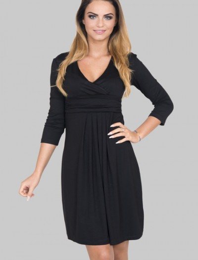 eng_pm_A-dress-with-with-a-put-in-neckline-black-366_2